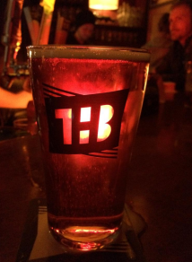 Ted's shot of a full pint