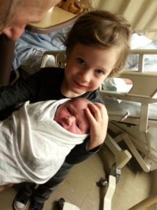 Jeremy & Baby Sam
